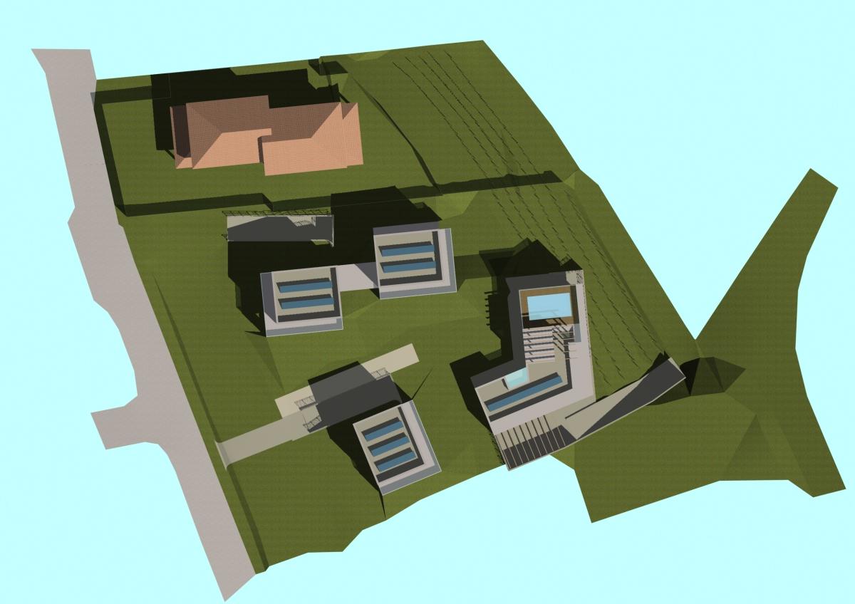 Sotto il Monte Giovanni XXIII (BG) - Committenza privata - Studio di fattibilità P.L - Planivolumetrico