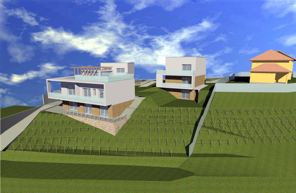 Sotto il Monte Giovanni XXIII (BG) - Committenza privata - Studio di fattibilità P.L - Vista da est